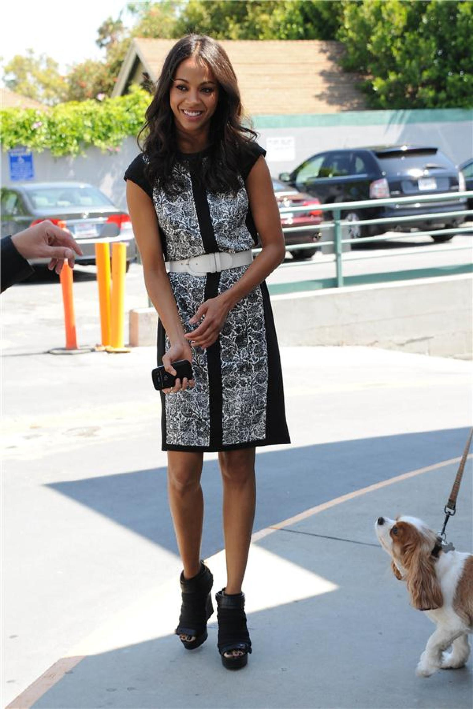 Zoe Saldana Has The Perfect Outfit To Wear From Day To ...
