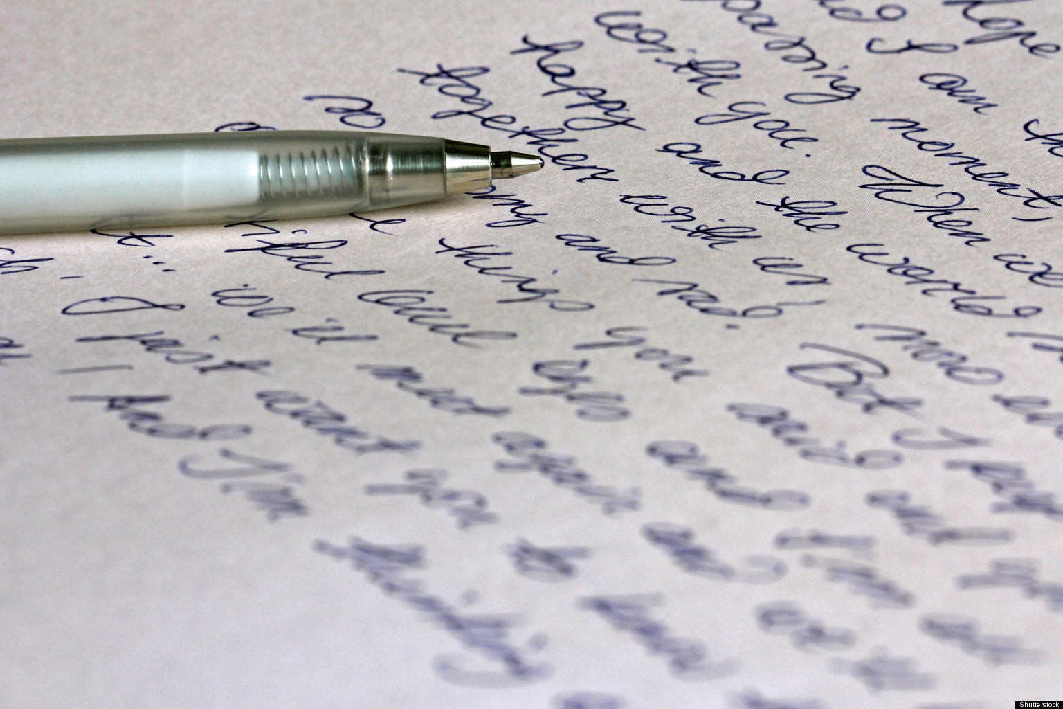Valentineu0027s Special: 10 Secret Love Letters To The Ones That Got Away |  HuffPost