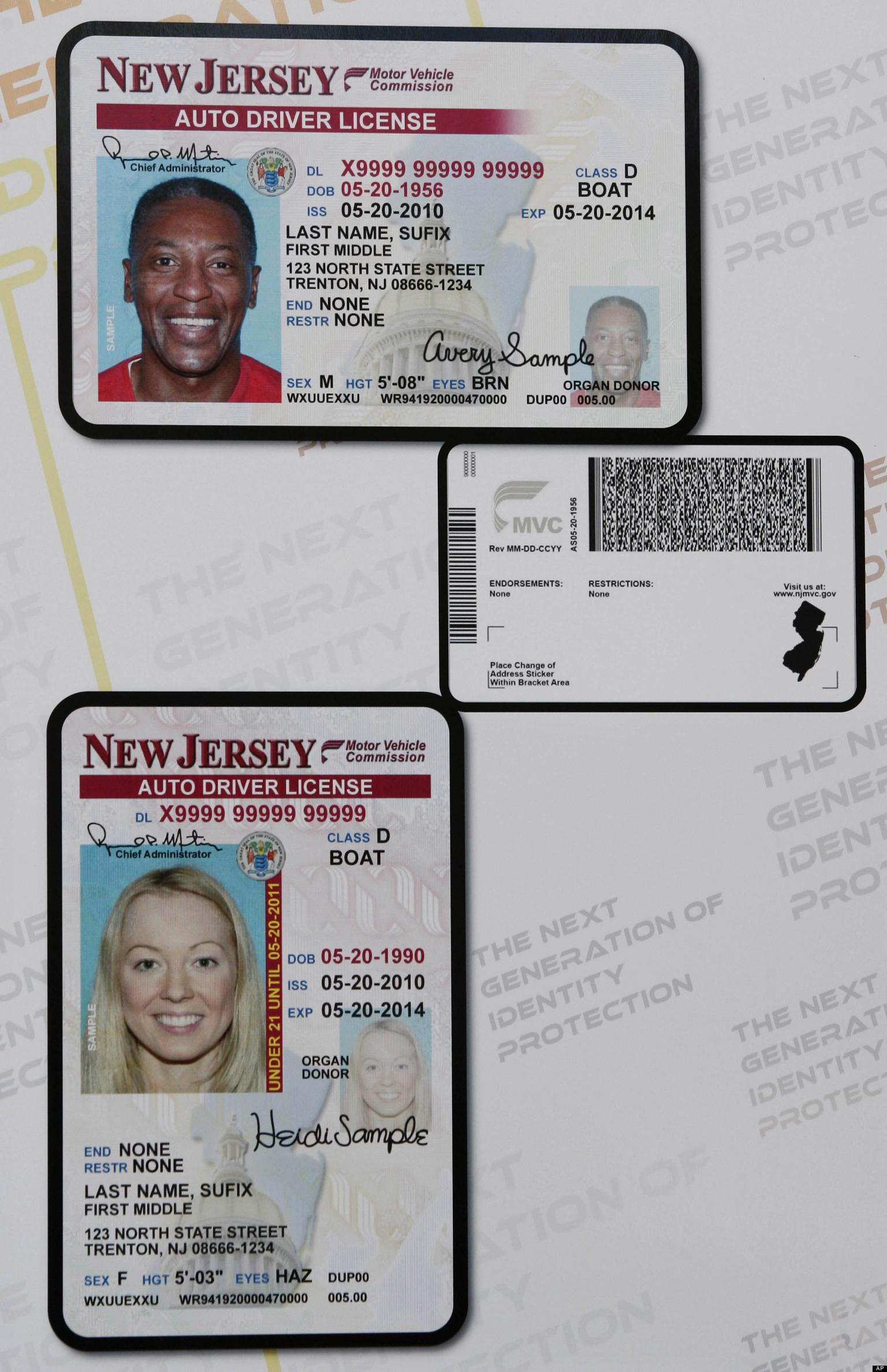 Nj Driver Driver Nj Permit Nj Permit Driver Permit Nj Driver