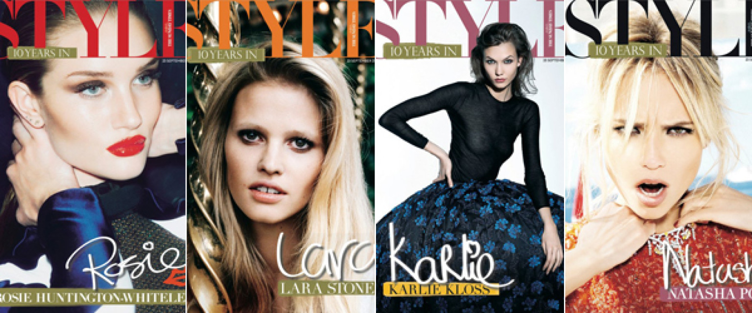 10 Top Models Cast By Sunday Times Style Magazine For Epic Collection Of Covers Photos Huffpost