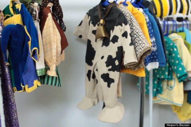 elmo cow costume