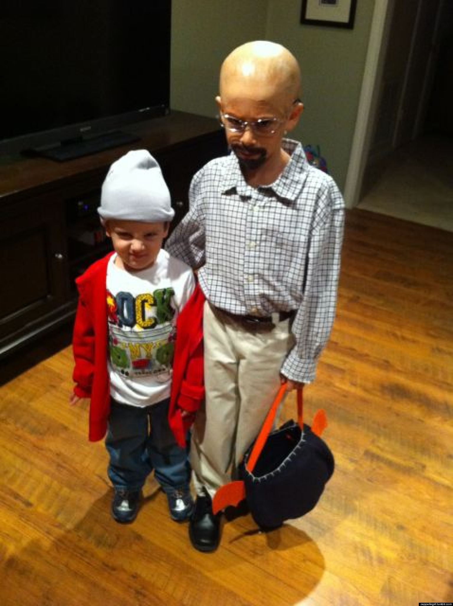 Breaking Bad' Halloween Costume For Kids Because Why Not? (PHOTO ...