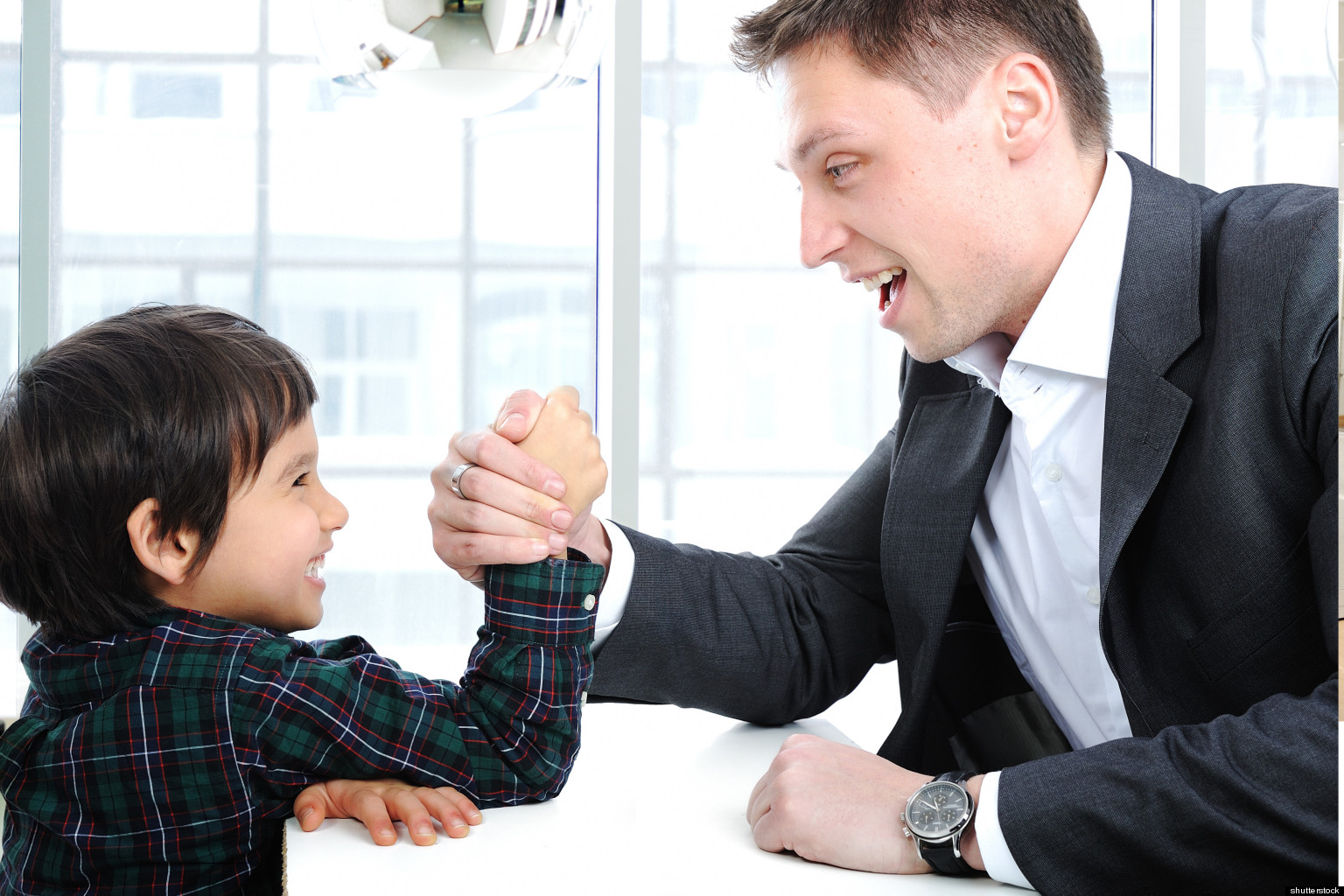 The Top Worst Mistakes American Parents Make HuffPost - Dad entertains 5 kids