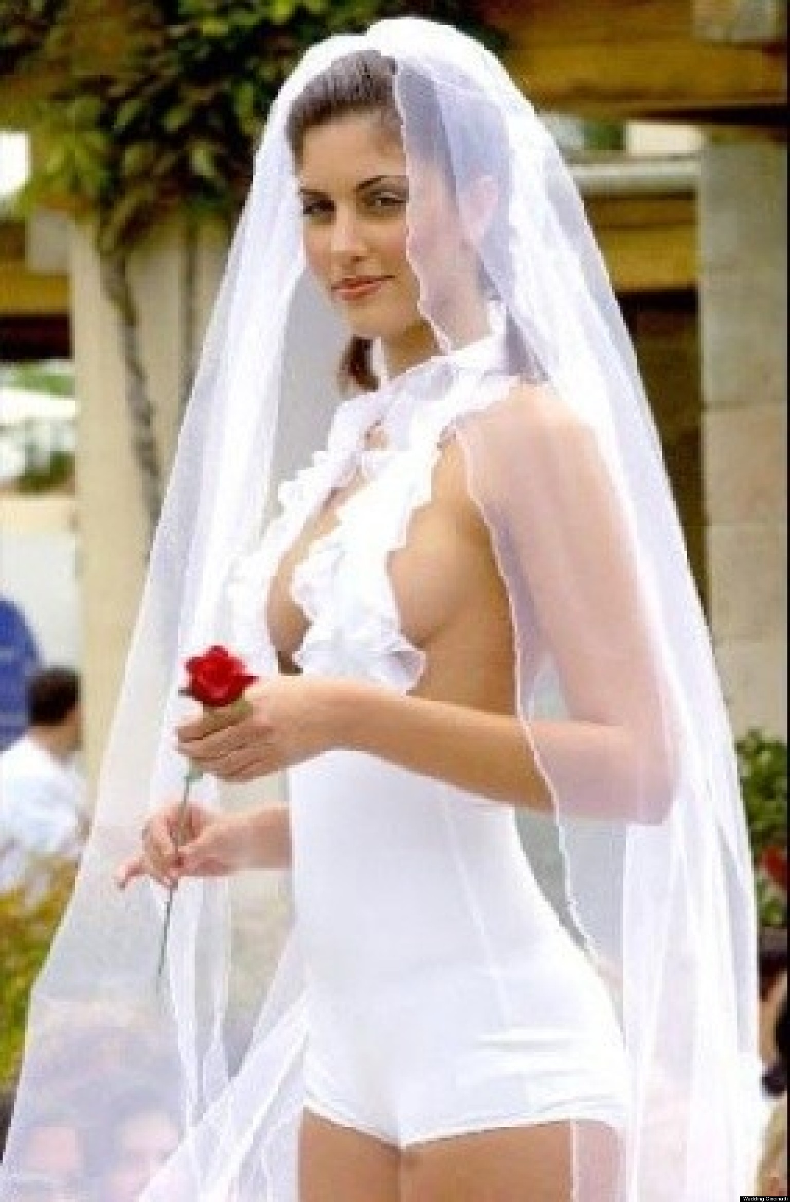 The Most Hilarious And Inappropriate Wedding Dresses Ever ...
