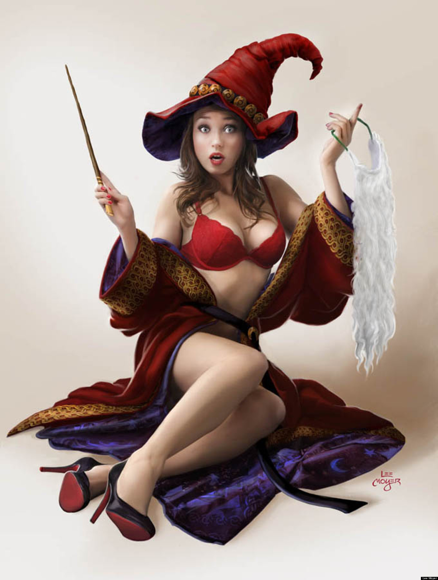pin up on a lee moyer literary pin up calendar illustrator reveals