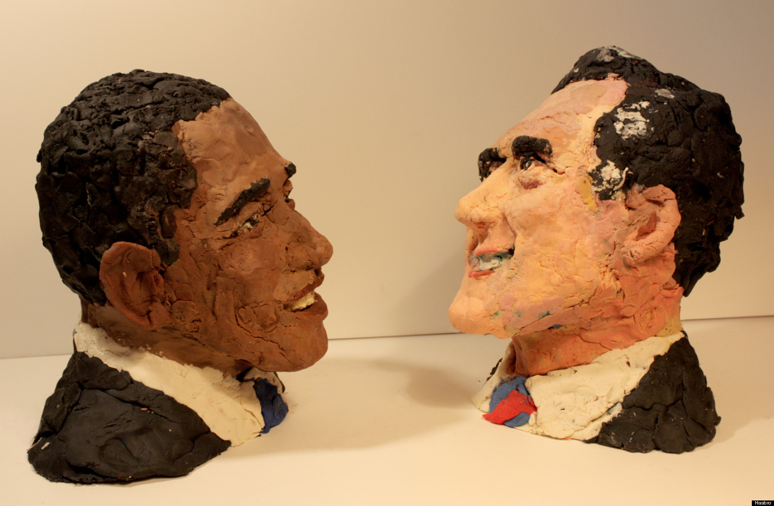 Artist ian williams 39 obama romney play doh creations win for Artiste creation