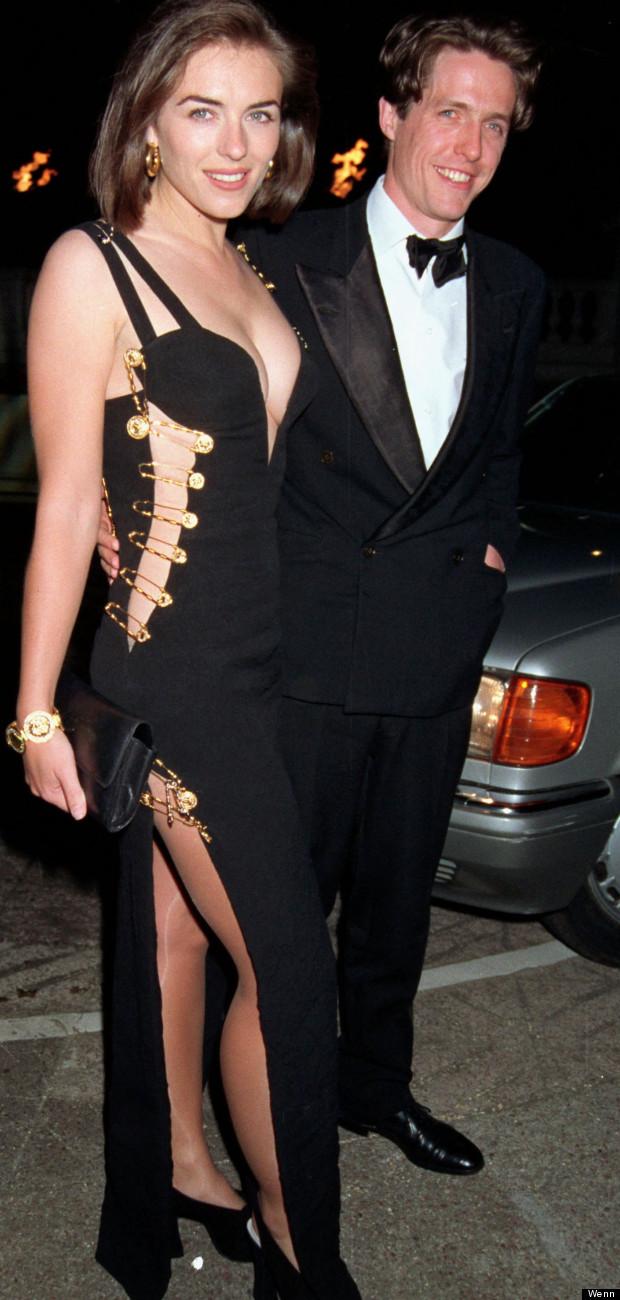 liz hurley versace dress