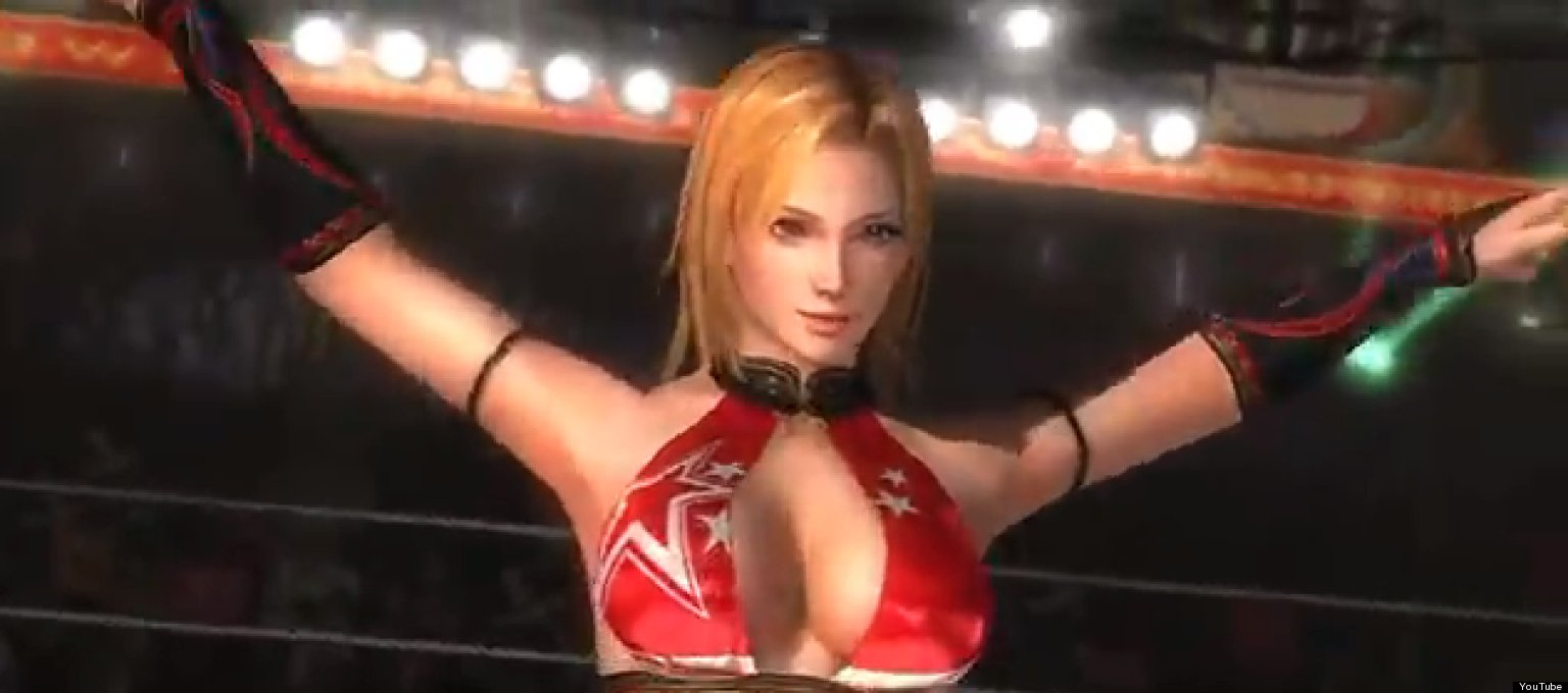 dead or alive 5' characters have bigger breasts because team ninja