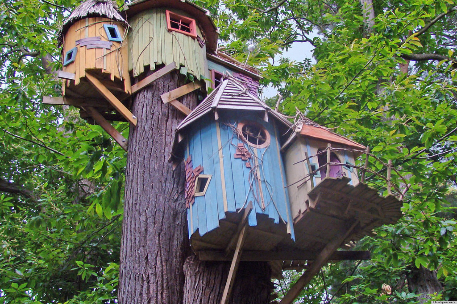 Cool Treehouse Designs We Wish We Had In Our Backyard (PHOTOS) | HuffPost Part 48