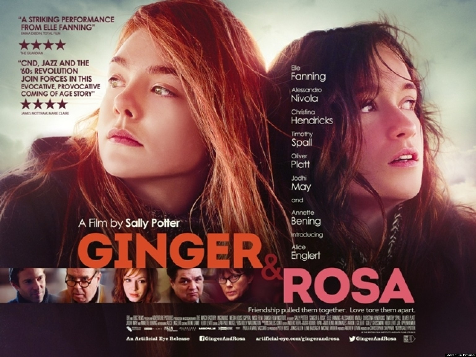 Ginger And Rosa Quotes