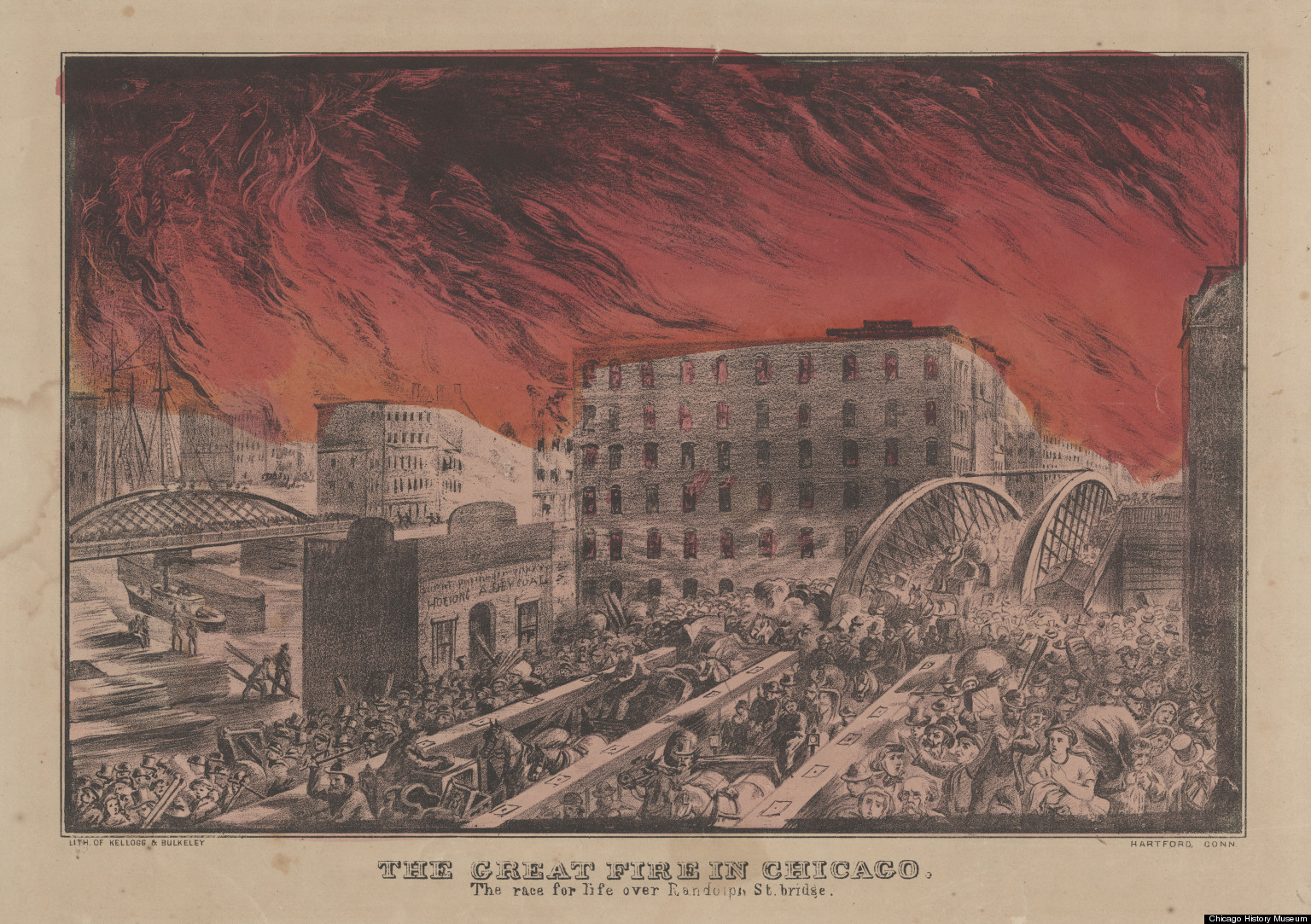 The chicago fire of 1871 essay