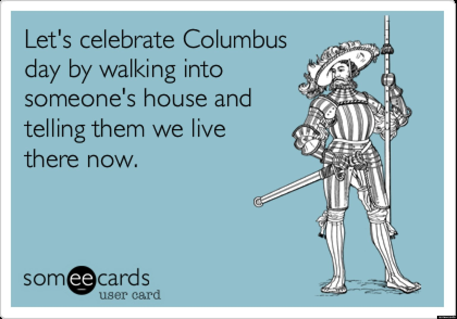 o COLUMBUS6 facebook columbus day memes seven hilarious images to help celebrate the