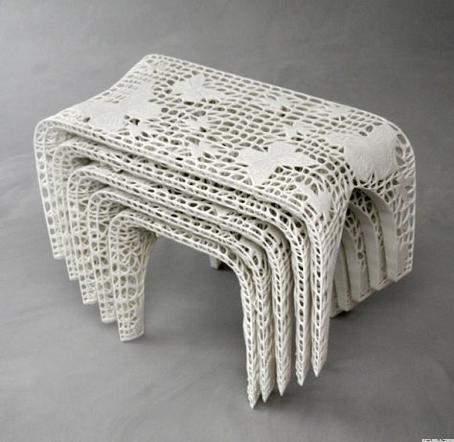 3d printing cool home decor and furniture designs on the for Furniture 3d printing