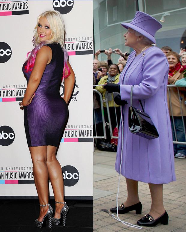 christina aguilera the queen