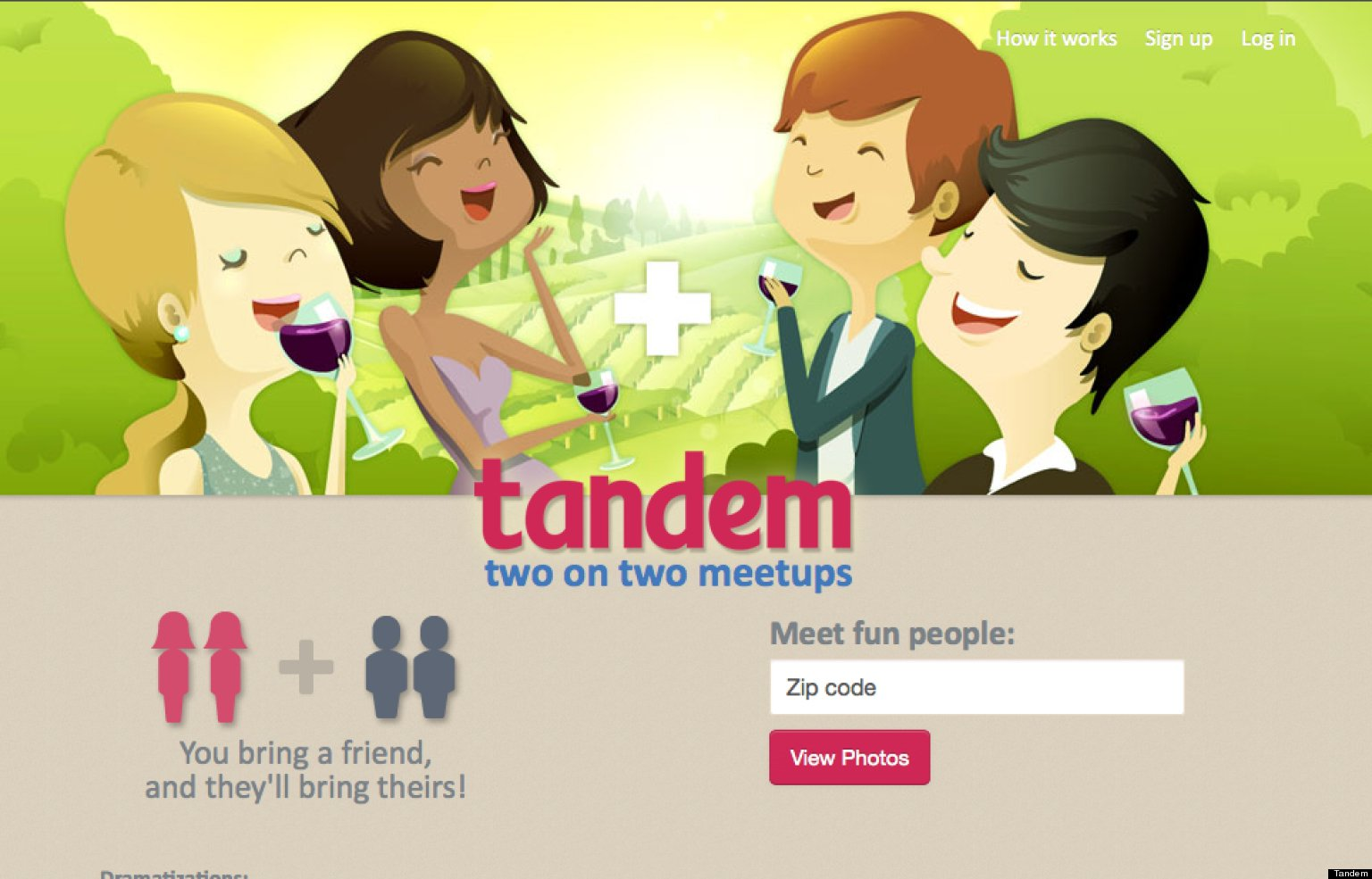 Tandem online dating site