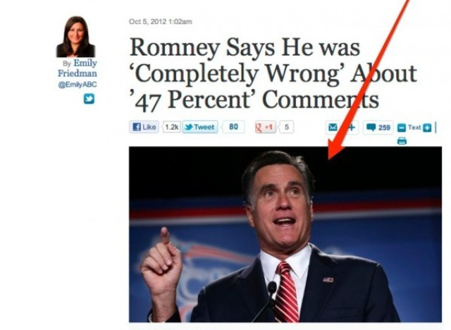 romney comp wrong