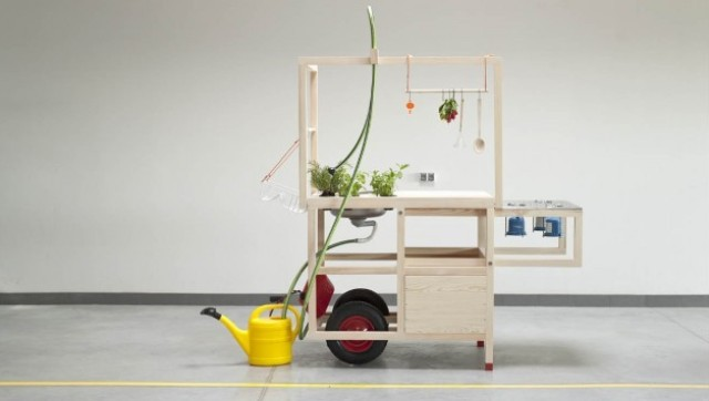 Mobile Kitchen Now You Can Cook Anywhere PHOTO HuffPost