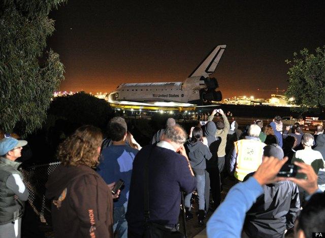 endeavour shuttle