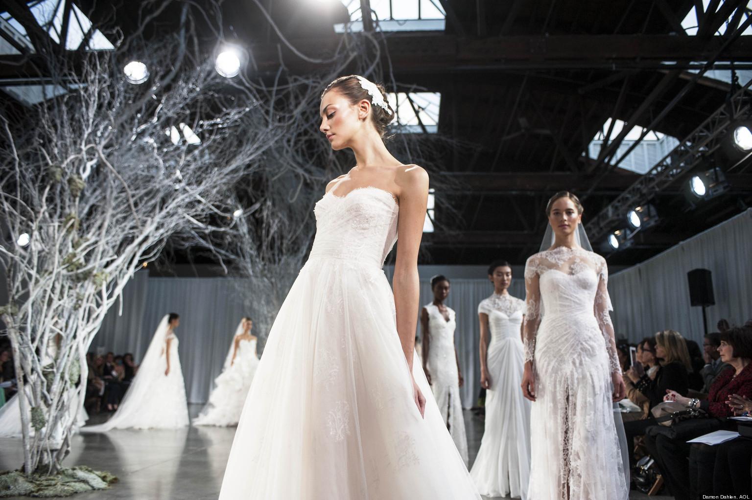 Wedding Gowns New York: Monique Lhuillier, Bridal Designer, Talks Fall 2013