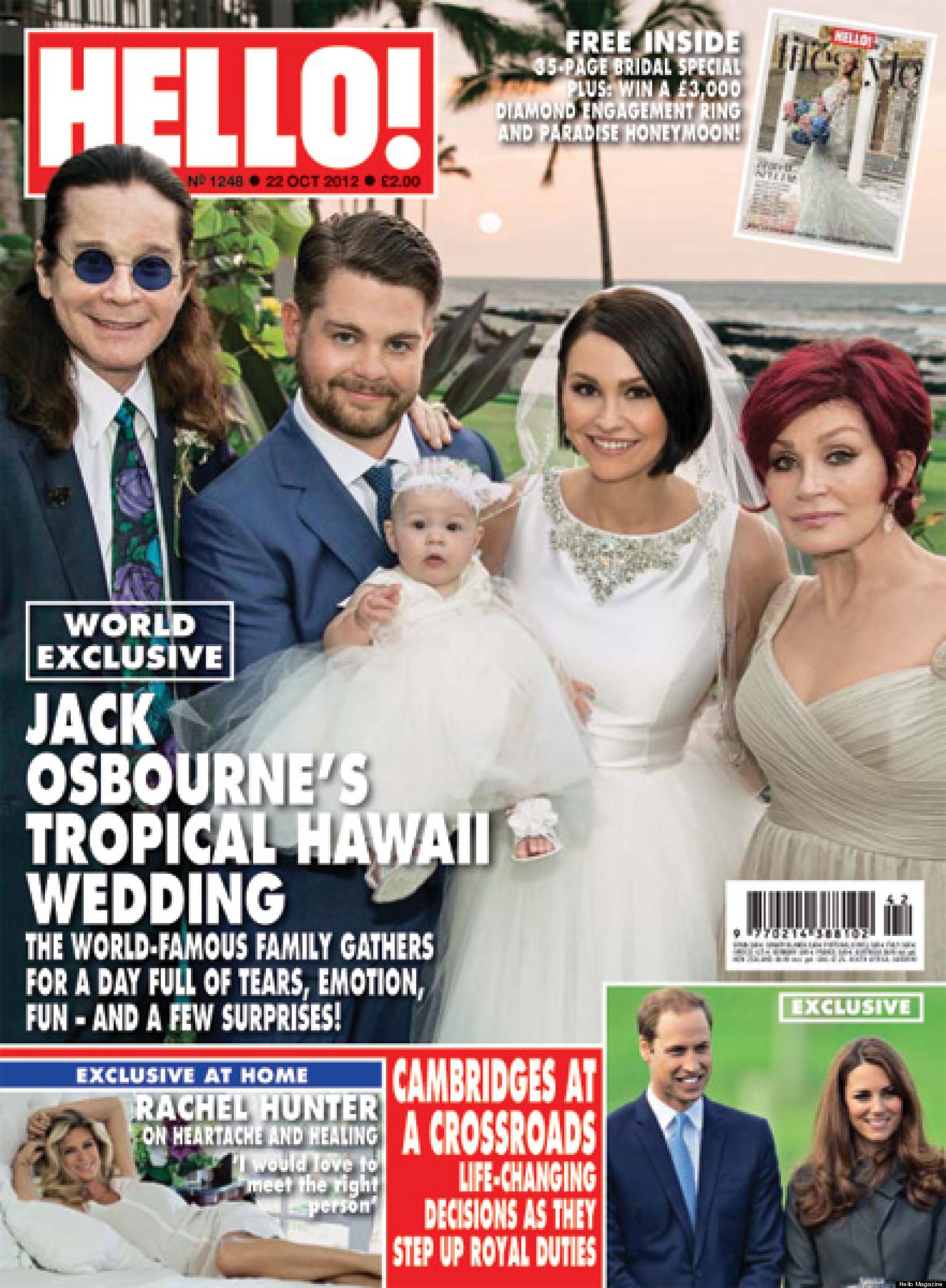 jack osbournes wedding star poses with wife lisa stelly
