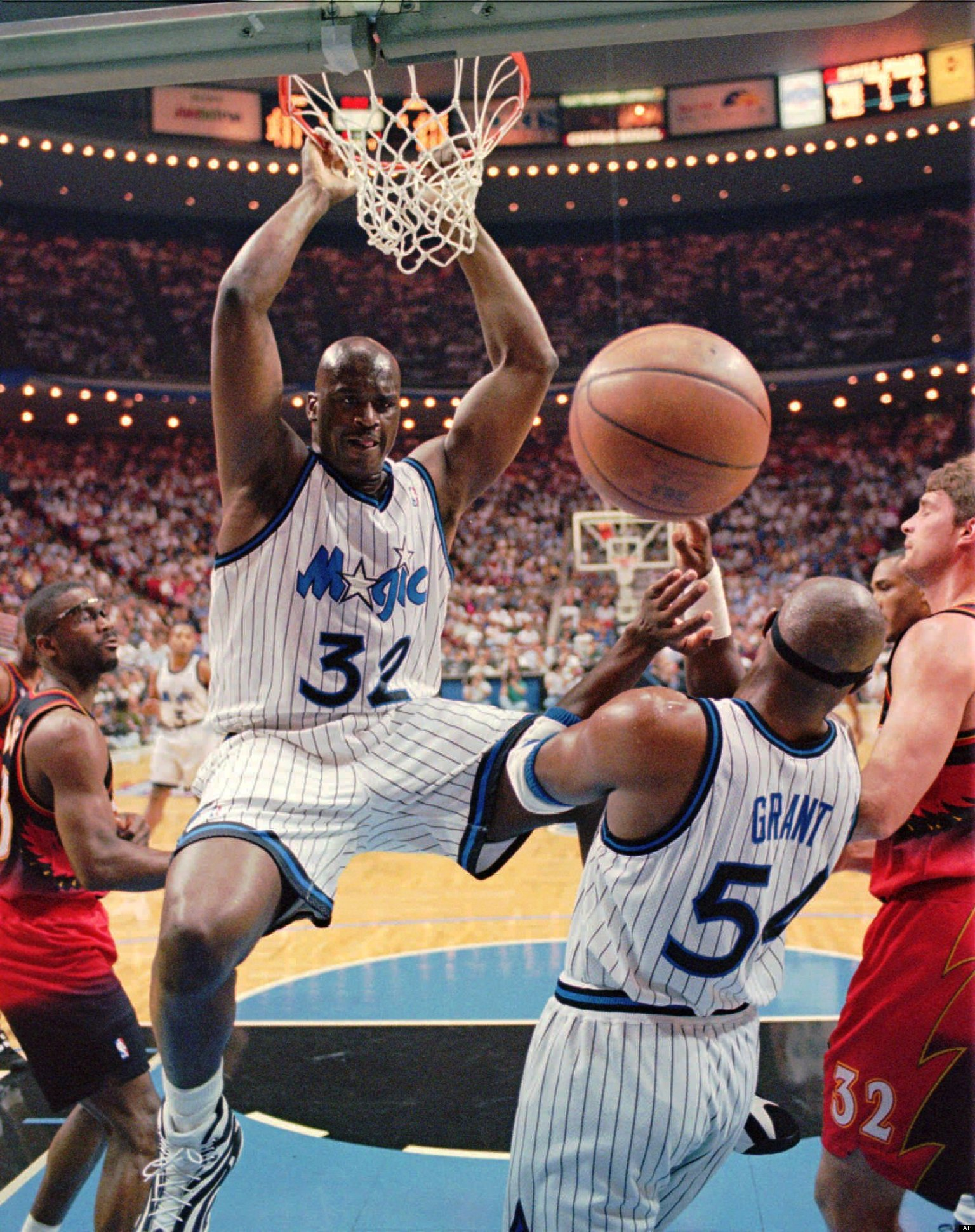 Horace Grant I Would Rather Play Against Shaq Than Fight Morgan