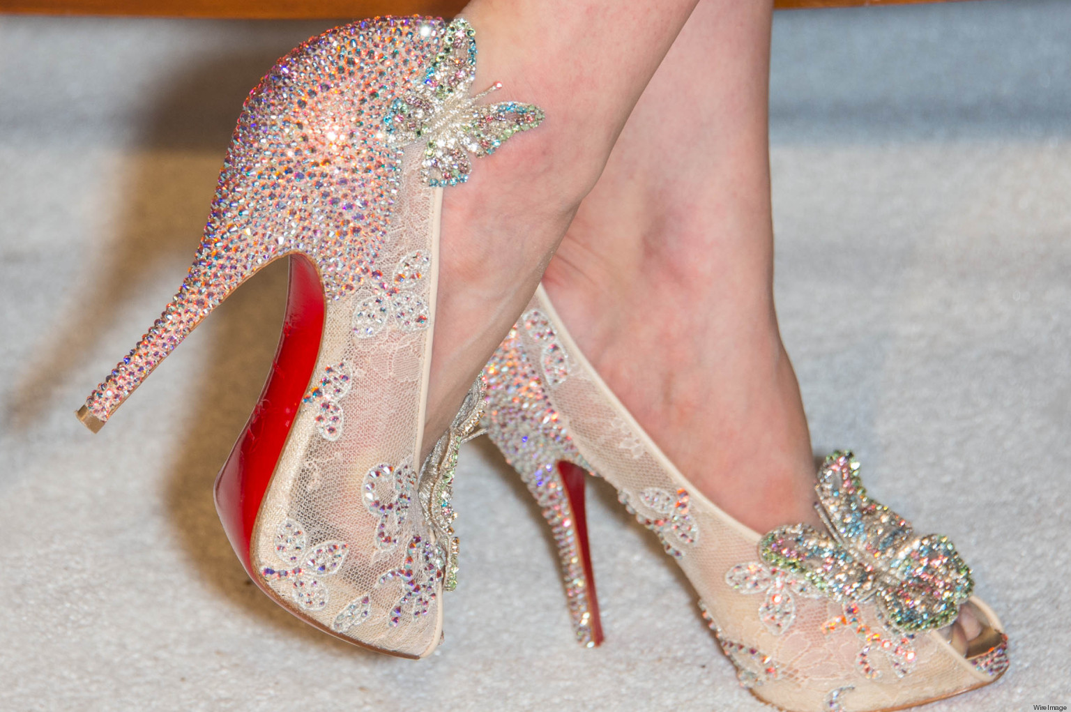 christian louboutin wedding shoes with red bottom