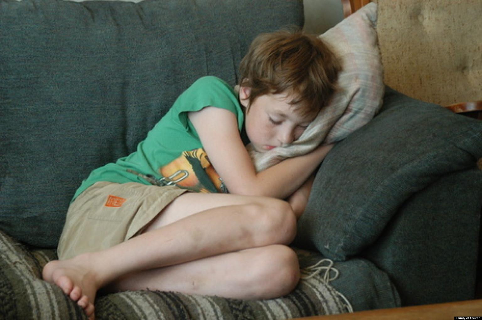 Sleeping teen gallery and movie