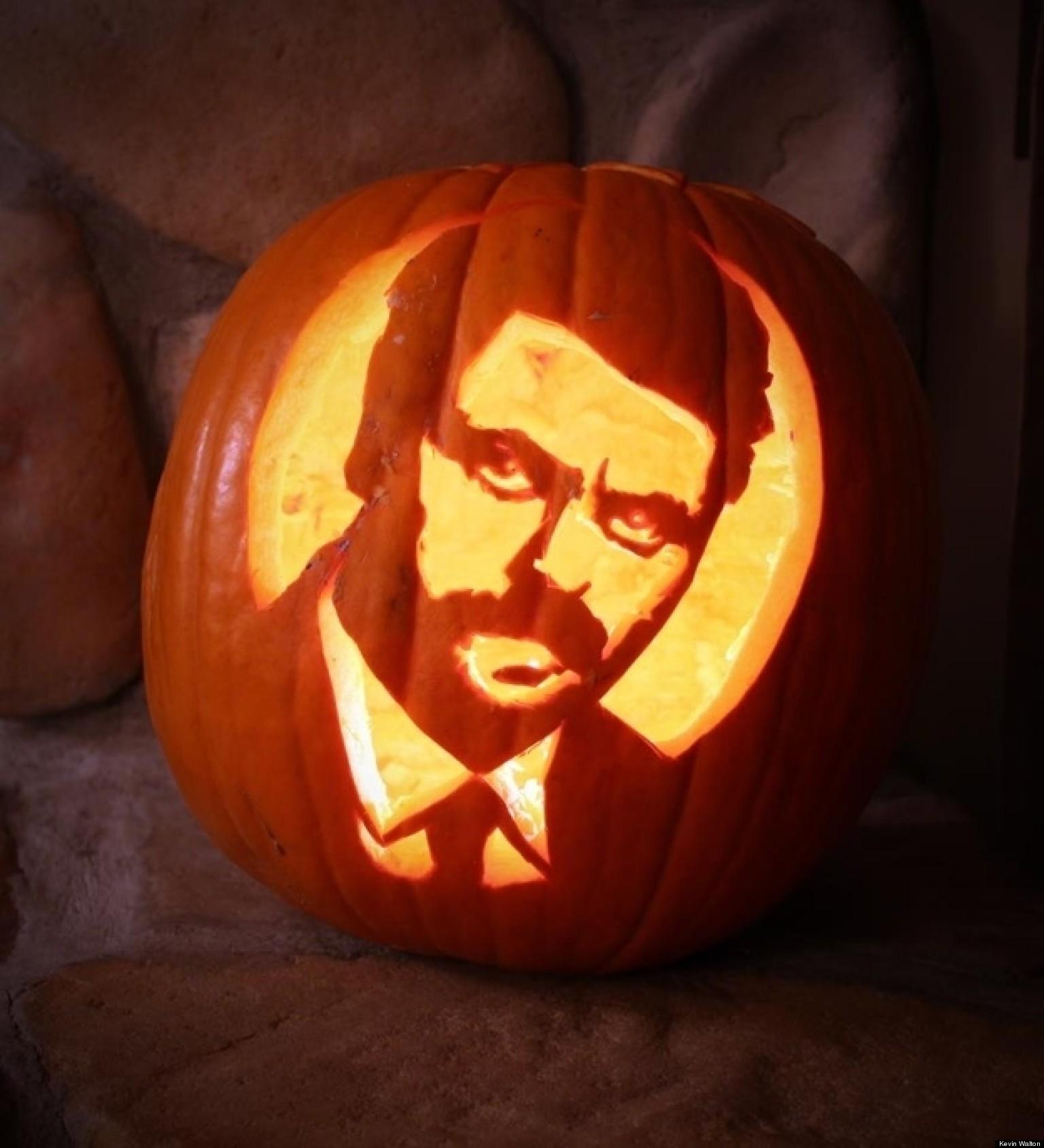 Halloween Pumpkin Carvings Pop Culture Edition Photos
