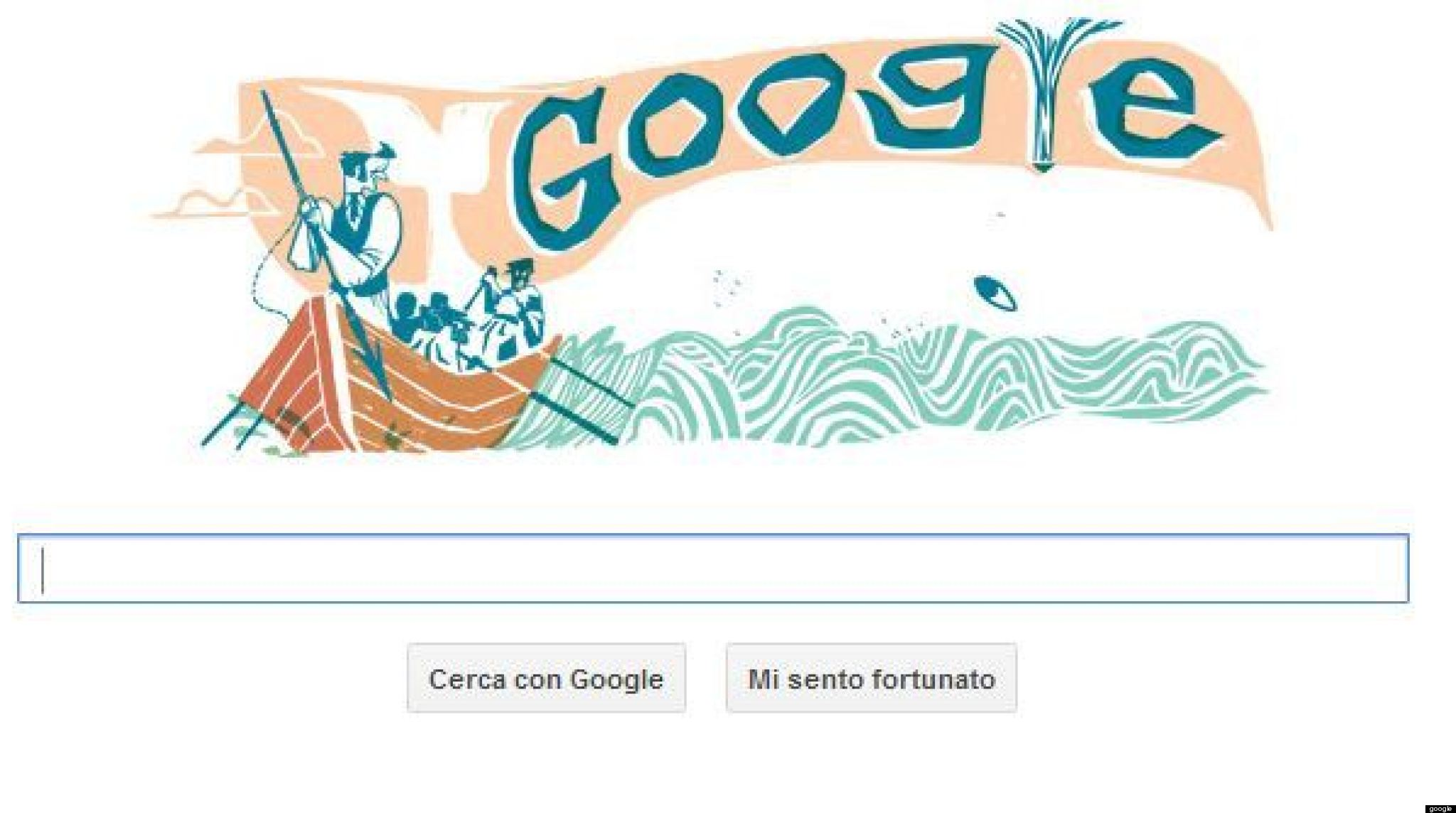 doodle moby dick