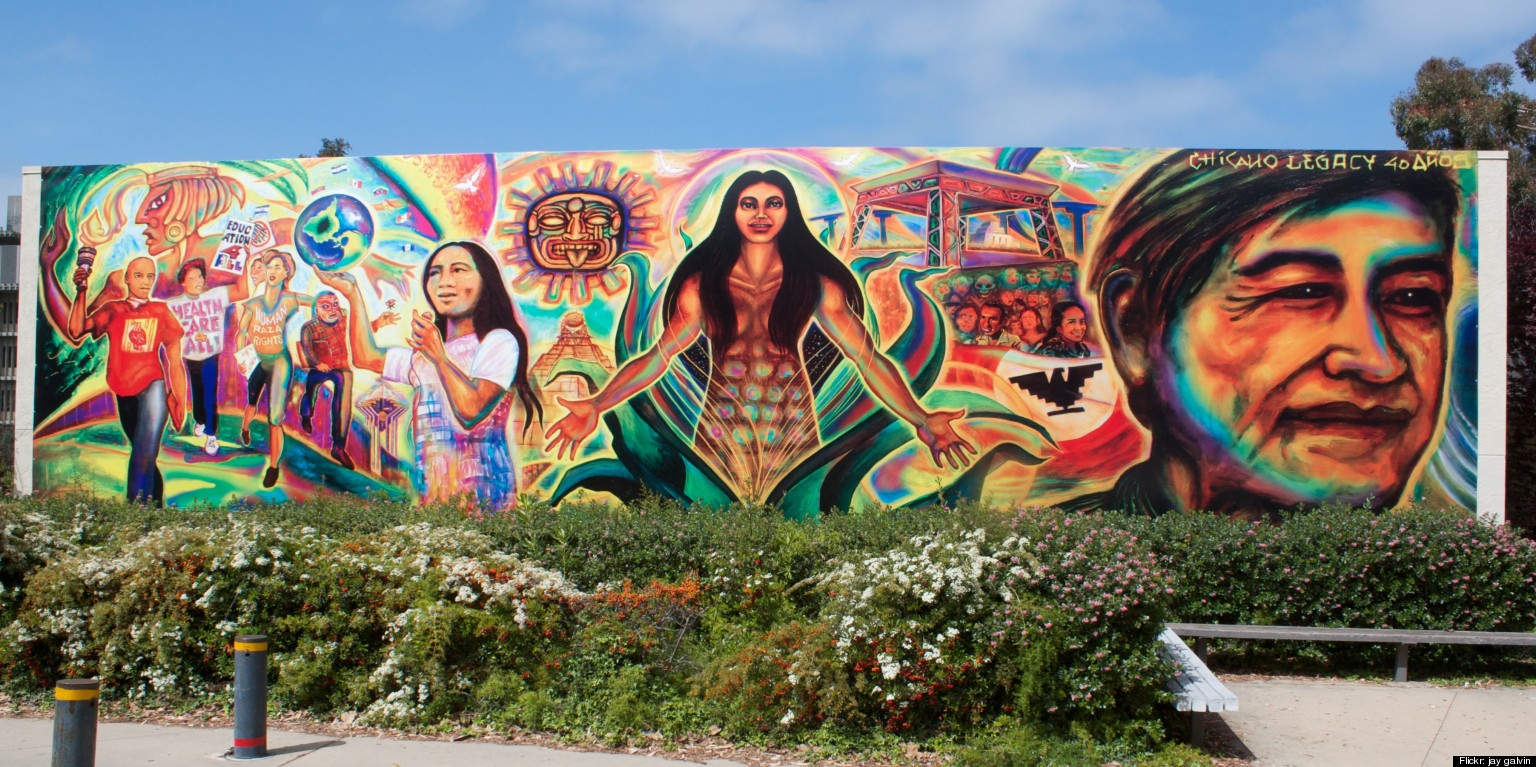 Hispanic murals san francisco wall murals for Mural sekolah