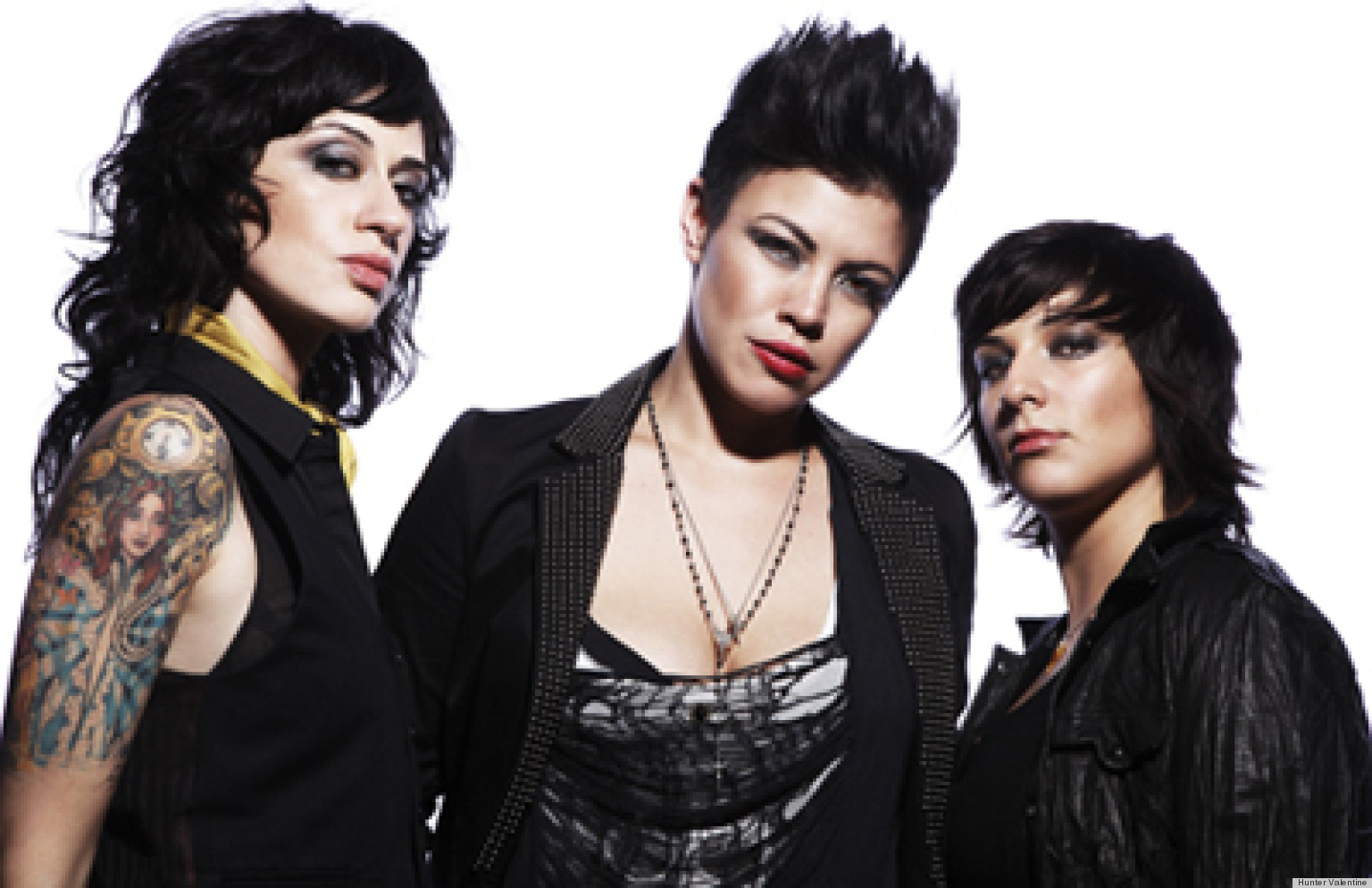 Schön Hunter Valentine, Lesbian Rock Band And Stars Of The Real L Word Season 3,  Talk Collide And Conquer And LGBT Issues (AUDIO) | HuffPost