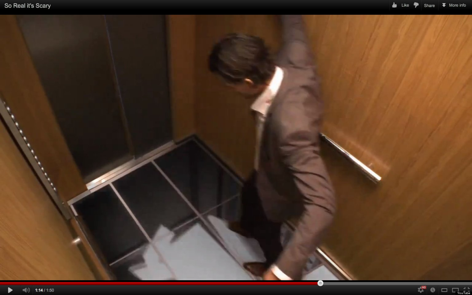 Lg Pranks Elevator Riders Makes It Seem They Re About To