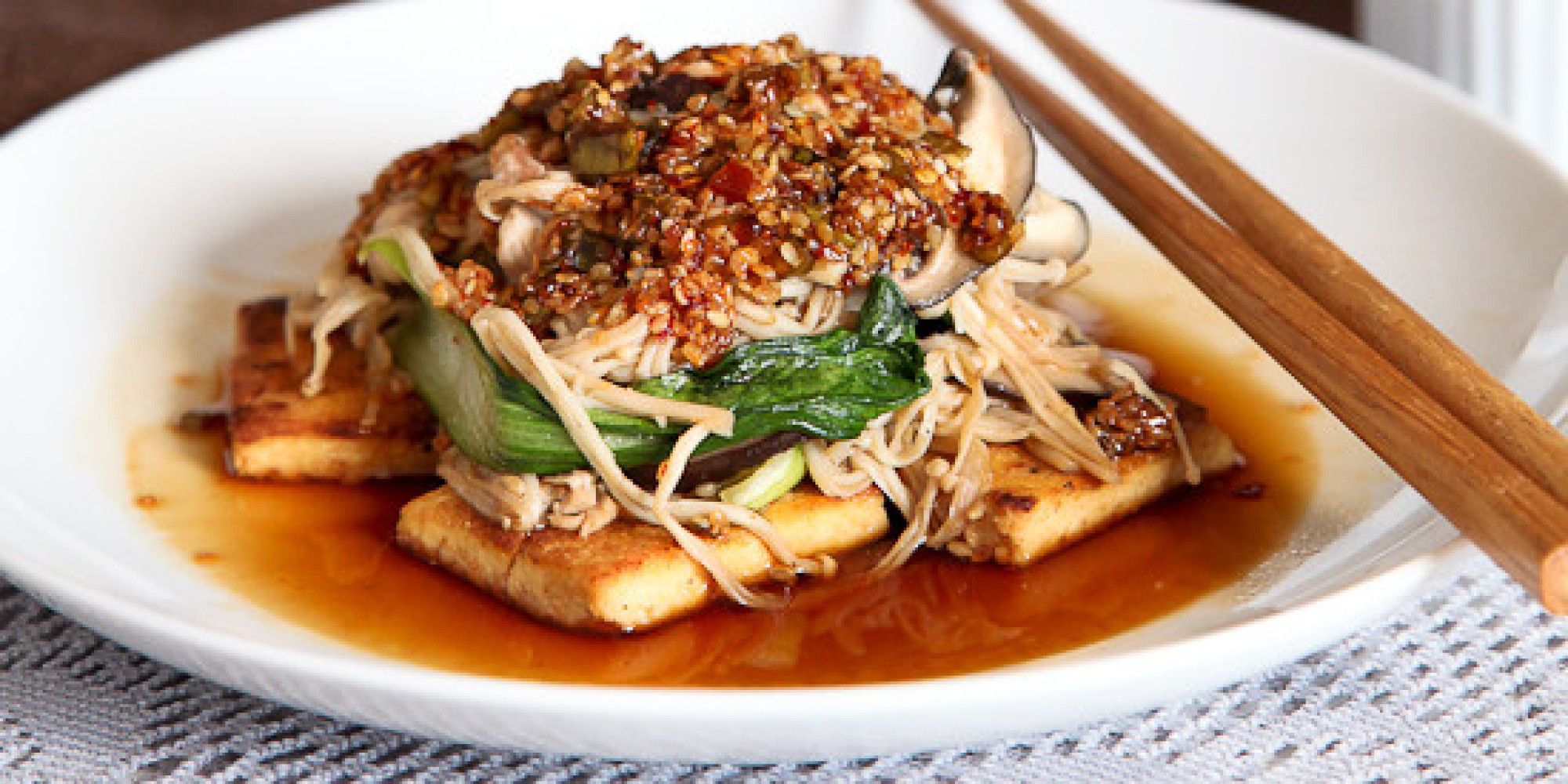 Tofu recipes everyone will want to eat for dinner huffpost forumfinder Gallery