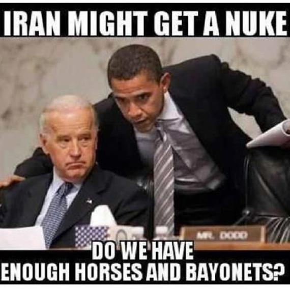 meme caballos bayonetas