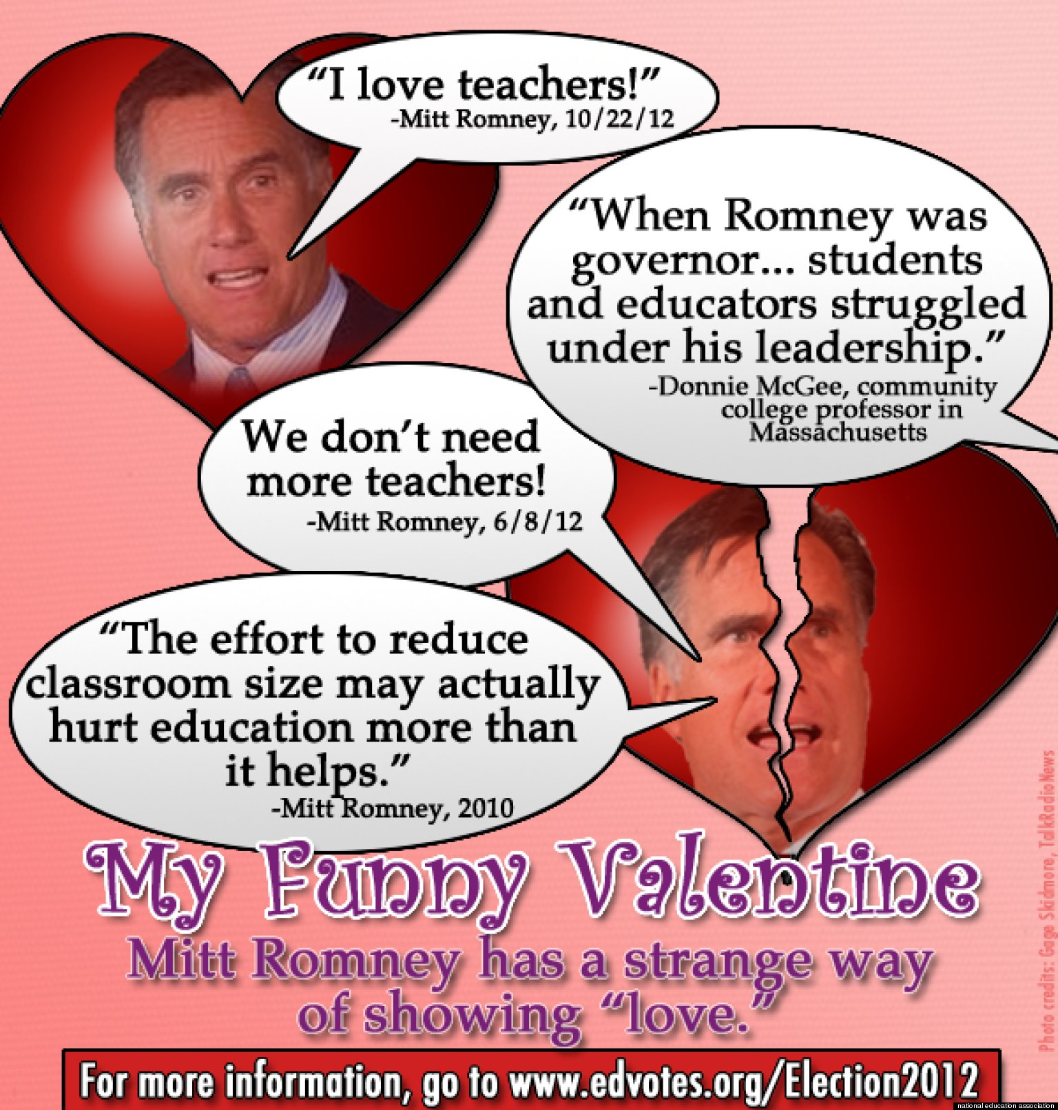 Mitt Romneyu0027s U0027I Love Teachersu0027 Remark Spurs Fake Valentine From Union |  HuffPost
