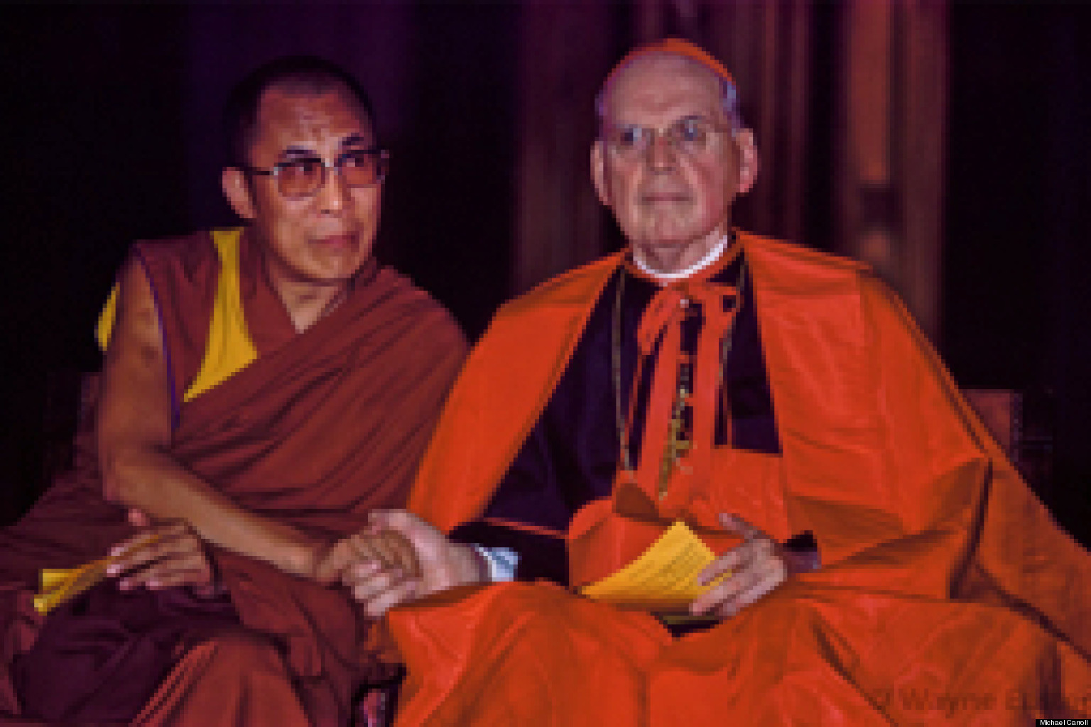buddhism and catholicism I was baptized and raised as a roman catholic after i turned 30 i started studying and eventually converted to buddhism, i found a peculiar trend during my studies, i found that a large amount of the people i talked to that had converted to buddhism were previously roman catholic.