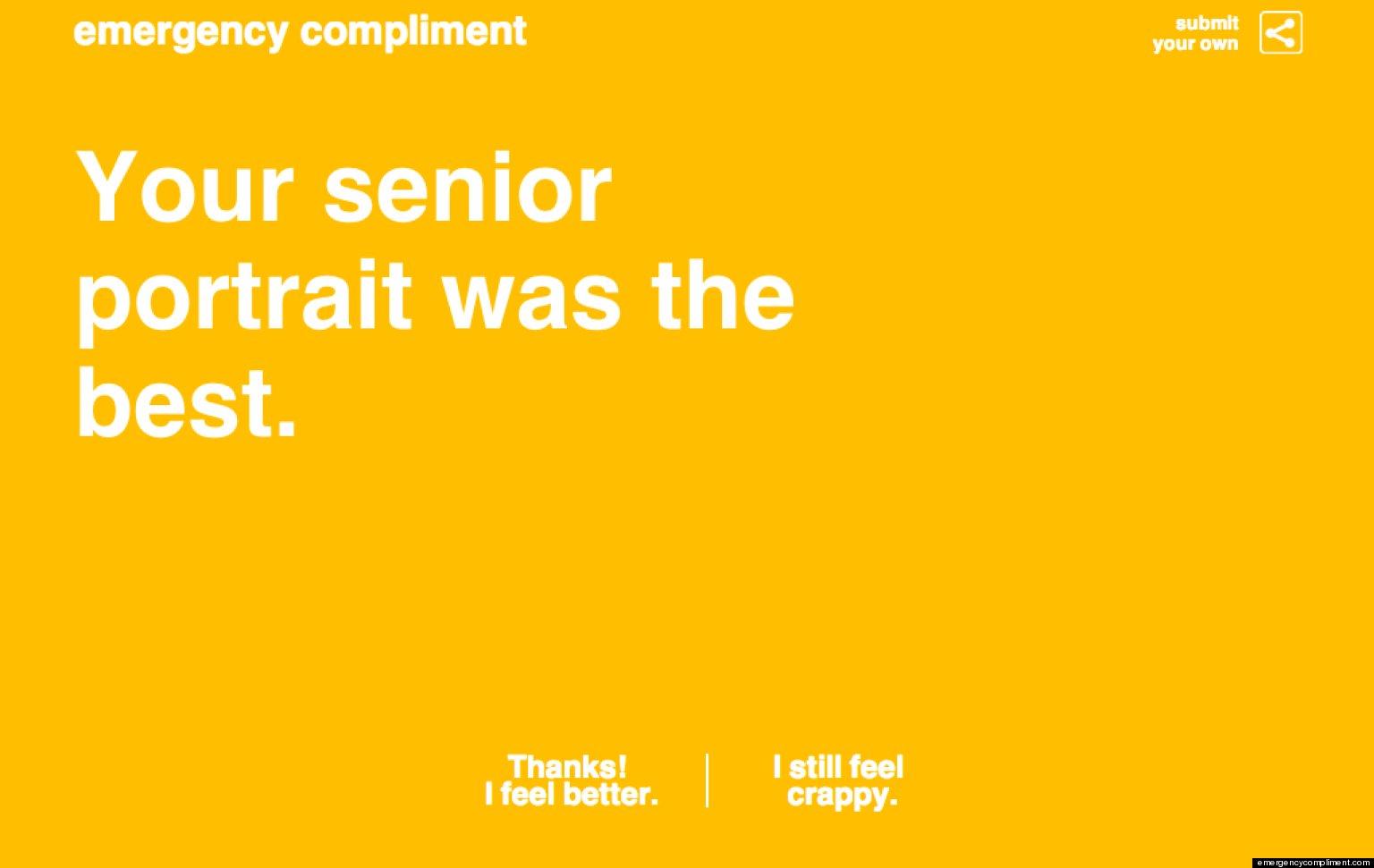 Random compliment generator