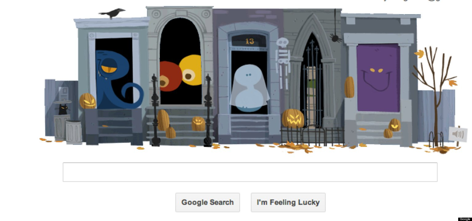 Halloween 2012 Google Logo Comes With Both Tricks And Treats ...