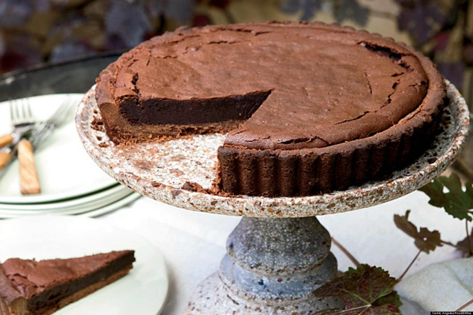 Recipe of the day chocolate bourbon tart huffpost forumfinder Choice Image