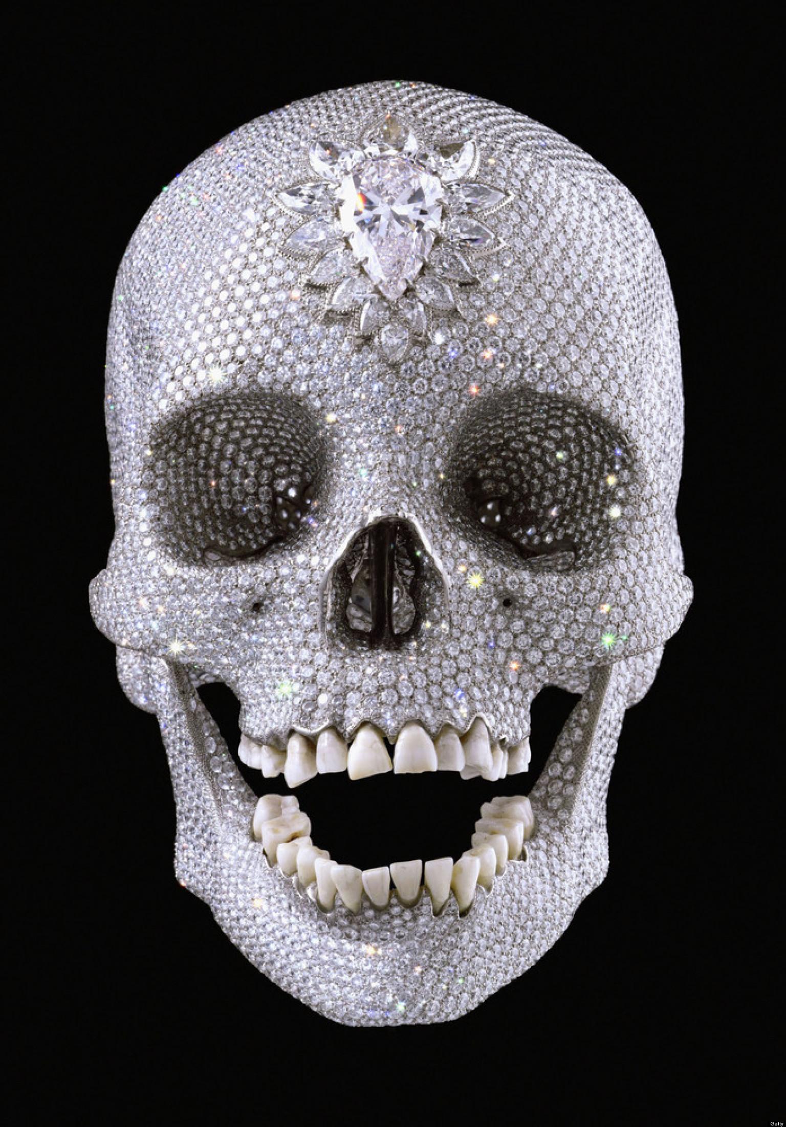 Day Of The Dead 10 Amazing Skull Artworks SLIDESHOW  HuffPost