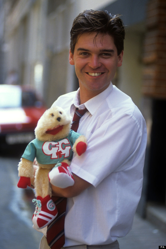 phillip schofield gordon the gopher