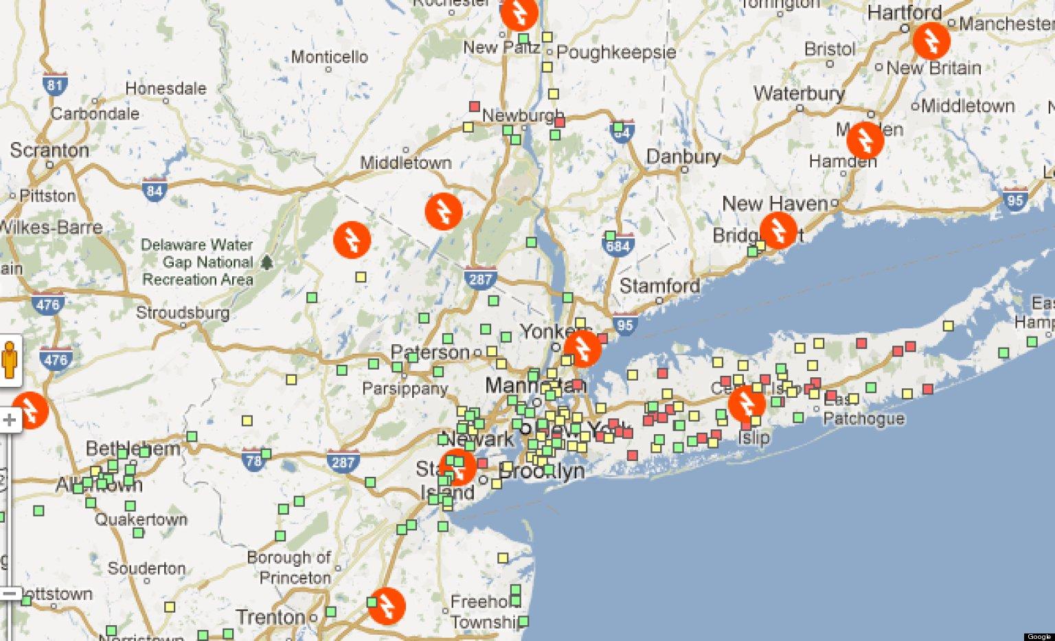 Us county map google