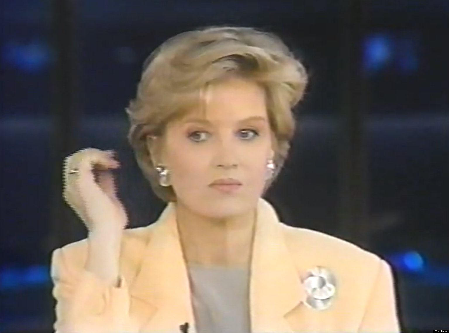 Diane Sawyer Sips Red Wine Is Gorgeous Imperfect And Awesome In Old Primetime Live Footage Huffpost