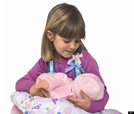the breast milk baby doll