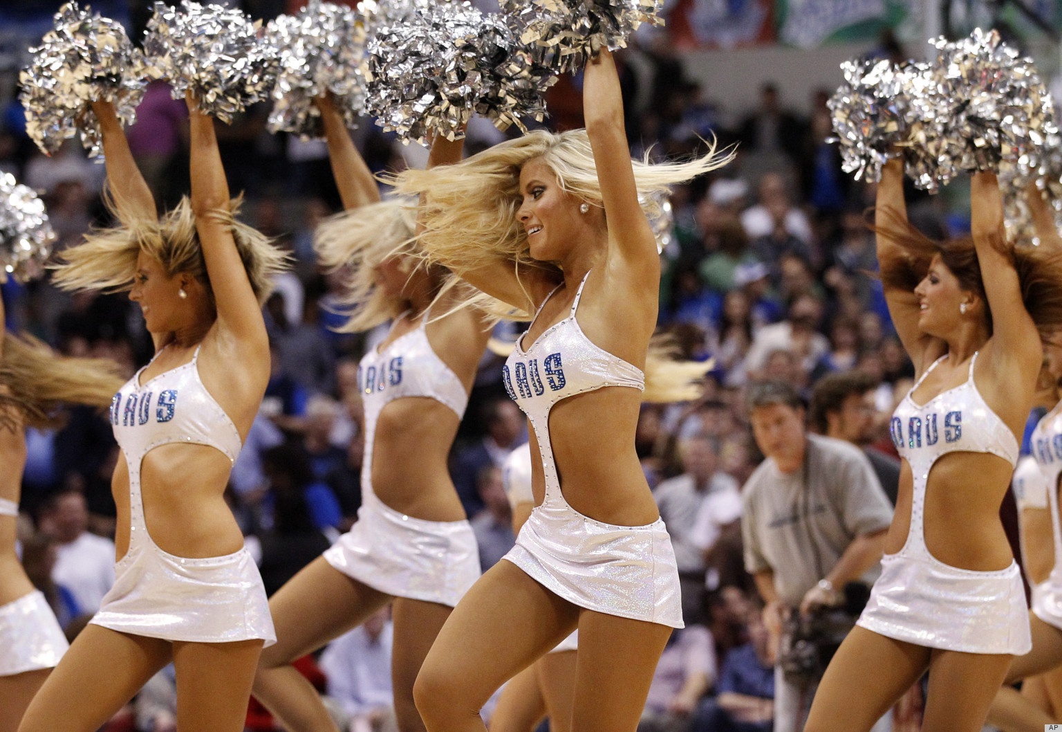 dallas mavericks dancers get sexy new uniforms, are now practically