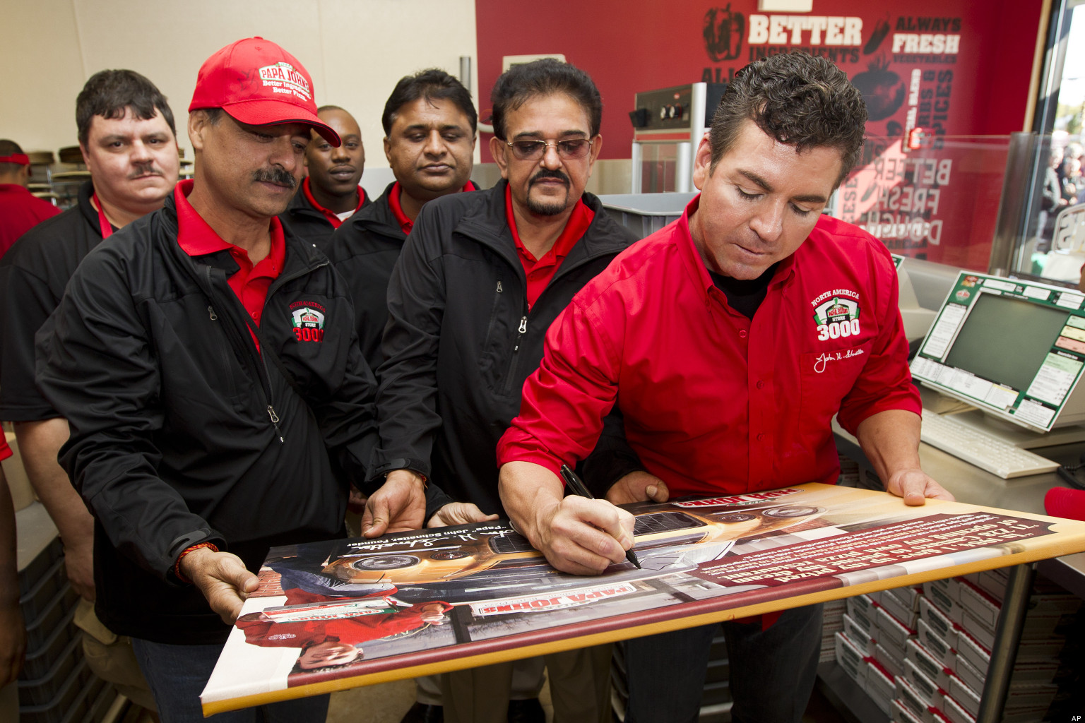 Papa John's CEO John Schnatter Says Company Will Reduce Workers ...