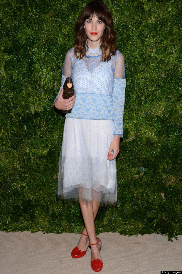 alexa chung vogue fashion fund awards