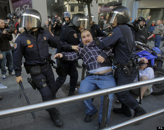 austerity strikes