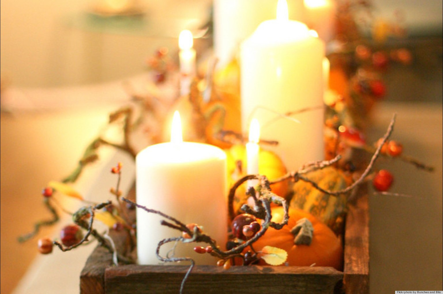 thanksgiving centerpiece ideas get inspired with these table displays photos huffpost - Thanksgiving Centerpieces Ideas