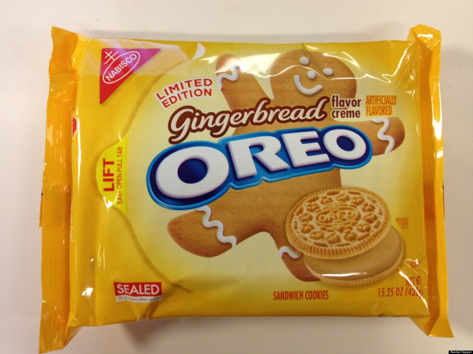 Gingerbread Oreos Are Surprisingly Awesome Huffpost